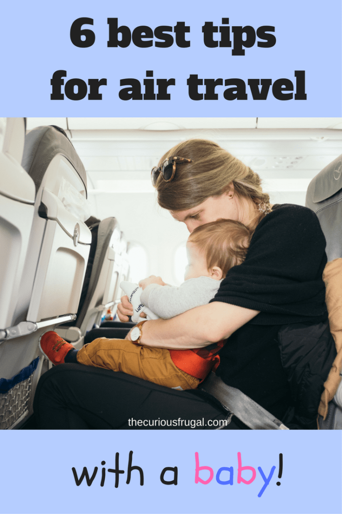 6 best tips for flying with a baby