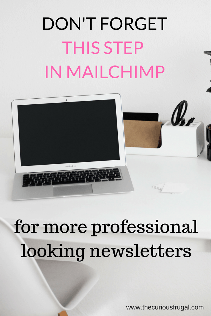 Authenticate your Domain with MailChimp for Professional Looking Newsletters
