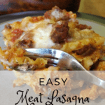 easy meat lasagna recipe | easy lasagna recipe | easy lasagna