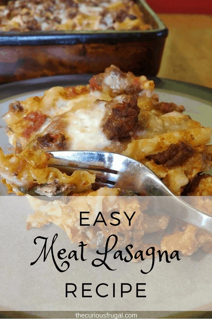 easy meat lasagna recipe | easy lasagna recipe | easy lasagna