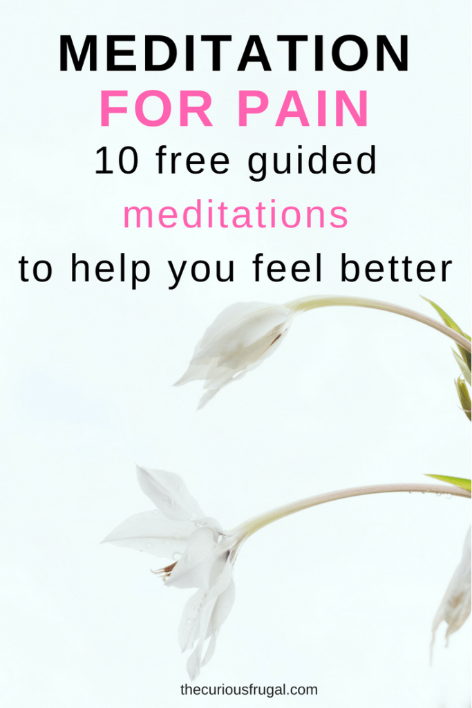 meditation for pain | how to relax | feel better | how to meditate