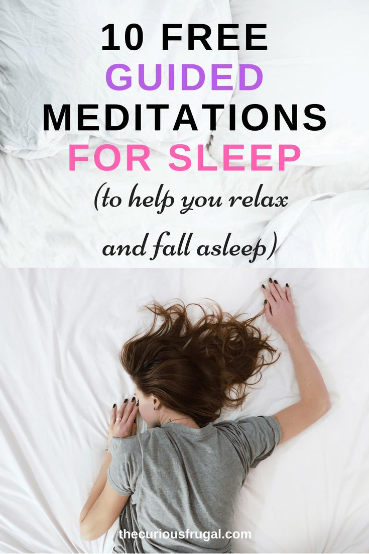 Meditation for Sleep – 10 Free Guided Meditations