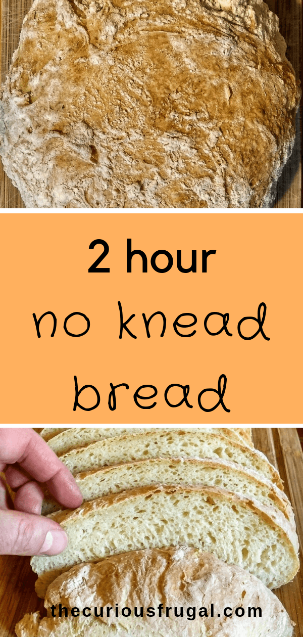 Faster No Knead Bread Without Dutch Oven