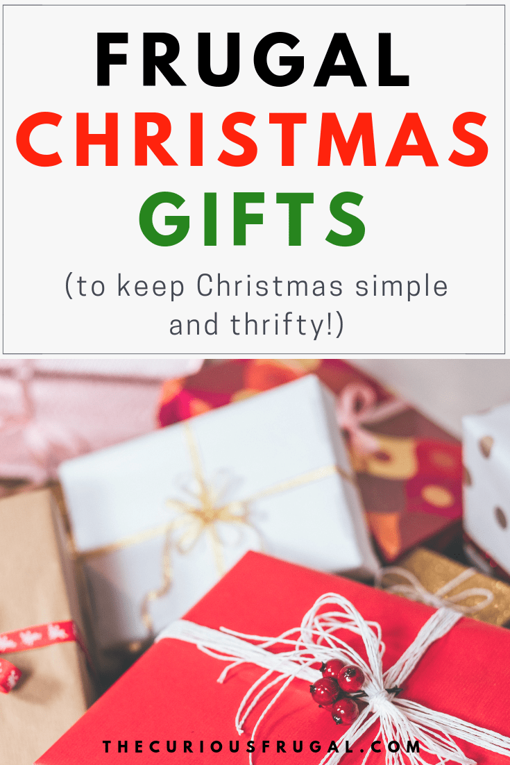 20 Frugal Christmas Gifts – What to Give When You Want to Keep Christmas Simple