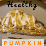 healthy pumpkin scones | vegan scones | pumpkin scones recipe