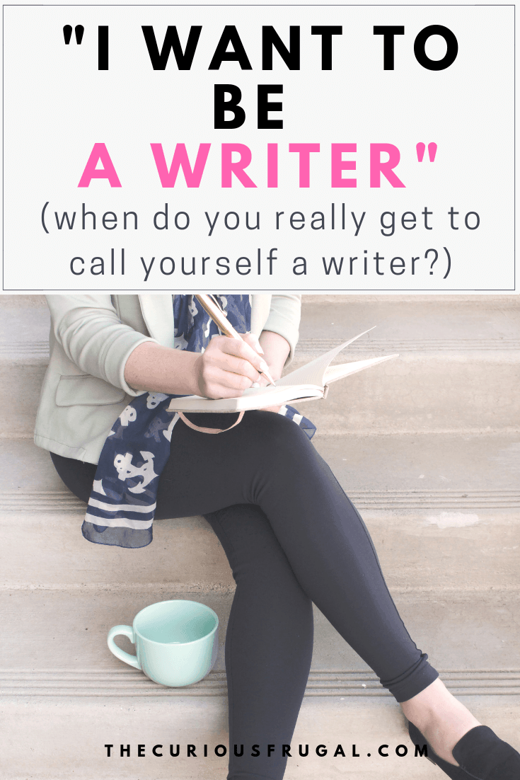 I want to be a writer – How to get started