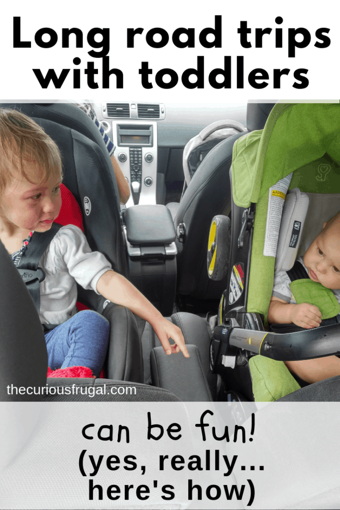 long road trips with toddlers | travel with kids | family travel