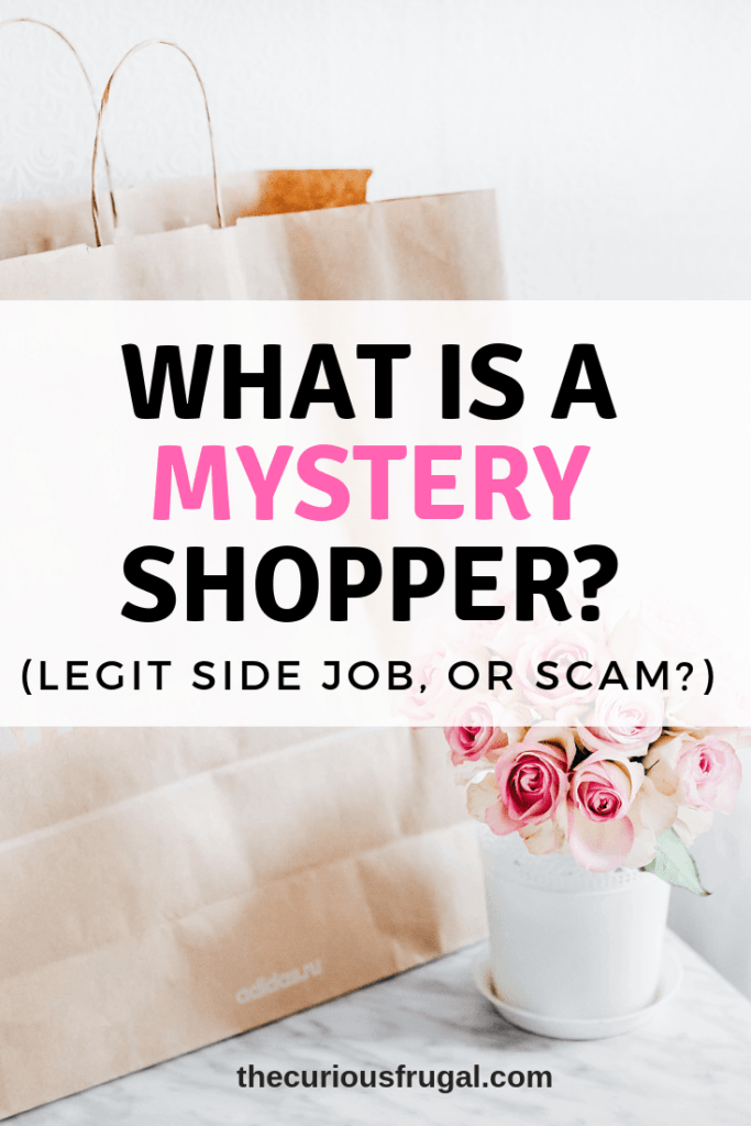 what is a mystery shopper | side hustle | make money | secret shopper