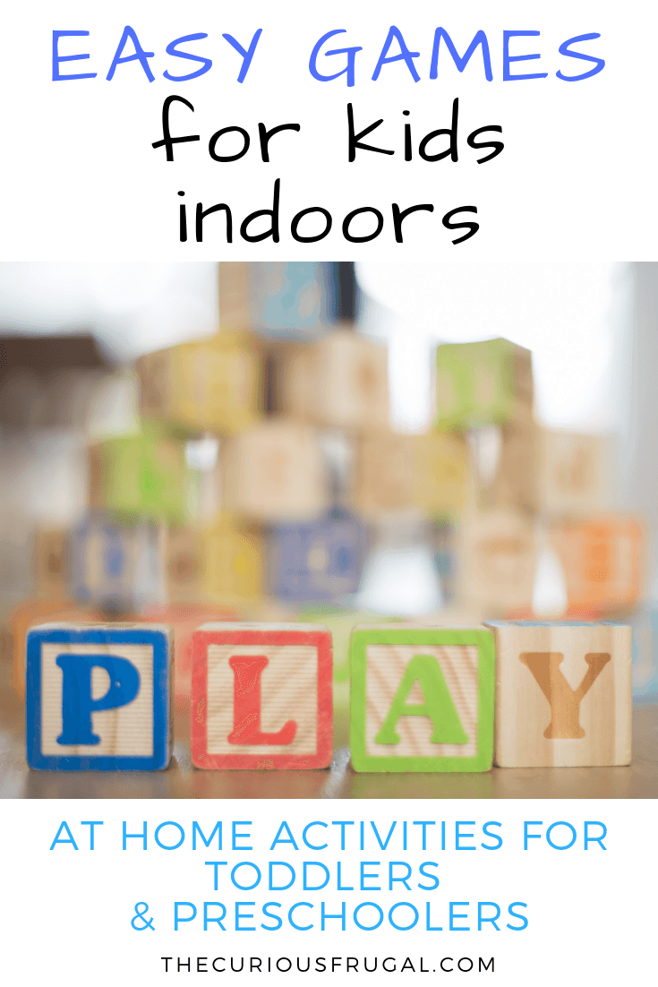 Easy board games – activities for 3 year olds at home when you're stuck inside