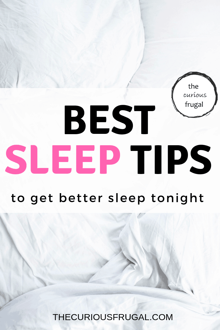 How to get better sleep: Sleeping tips when you have insomnia. #sleeptips #insomnia #relaxation #selfcare #healthyliving