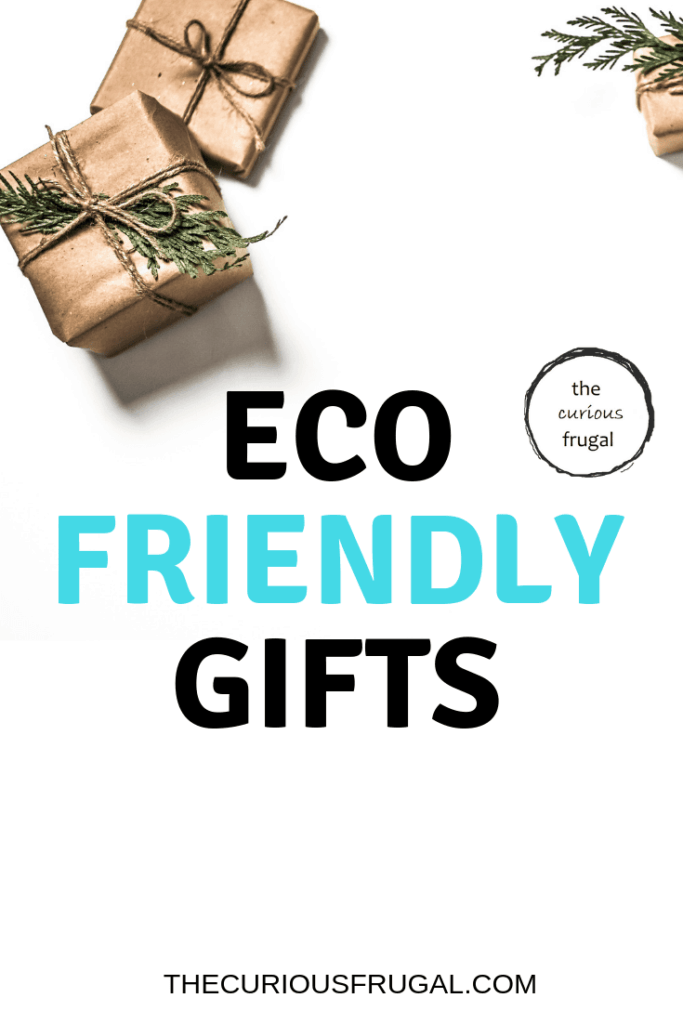 If you're interested in green gifting, you can have a positive effect with these minimalist gifts that are good for the environment.  #giftguide #gifts #ecofriendly #minimalism