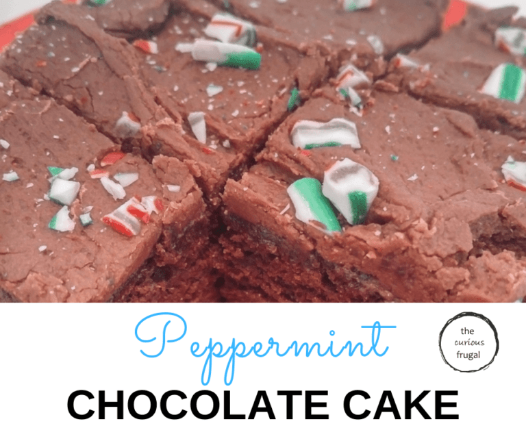 Peppermint chocolate cake to make your holiday delicious