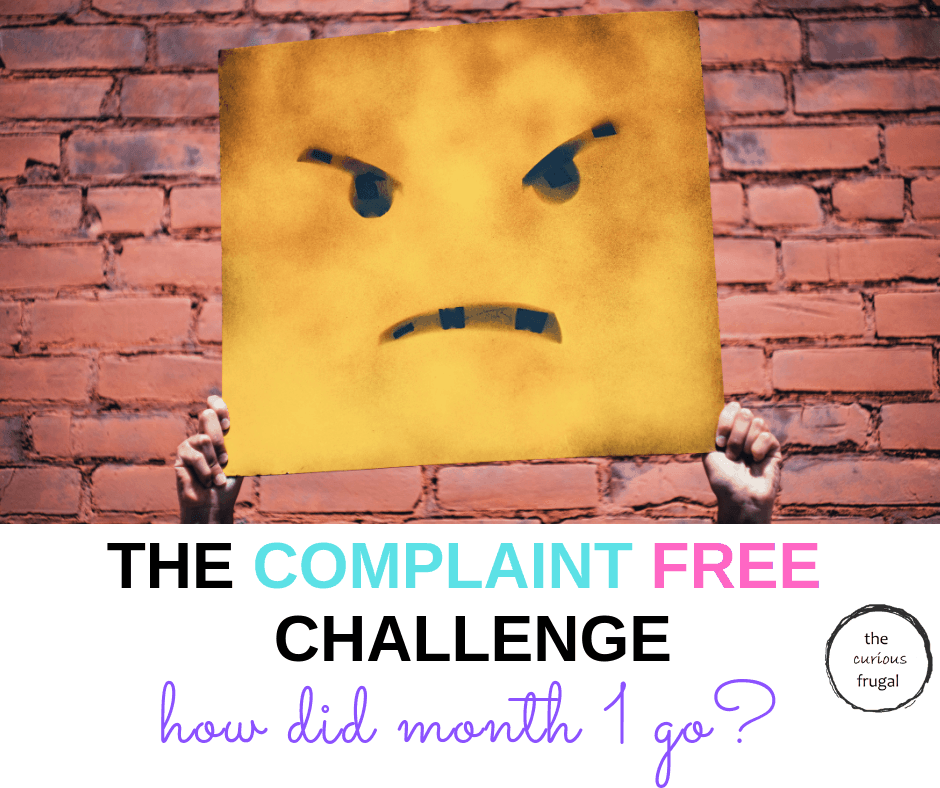 It's been 1 month of trying the 21 day Complaint Free Challenge...how did I do?  Read all about it in this update... #happiness #personaldevelopment #selfcare #selflove #personalgrowth #wellness