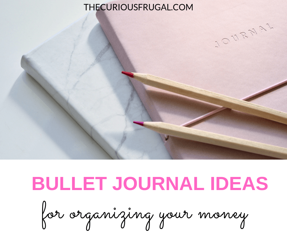 There's no reason why keeping track of your money can't be more fun.  Check out these pretty bullet journal ideas to track your money in an un-boring way. #bulletjournal #organizing #budgeting #savemoney #printables #bujo