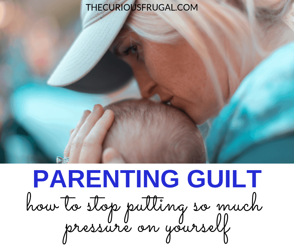 Most parents will feel parenting guilt at some point. Here are some tips on how to get rid of mom guilt/dad guilt so you can get on with enjoying being the parent you are. #motherhood #secondchild #momguilt #feelings #breastfeeding #workingmom #parenting #parenthood