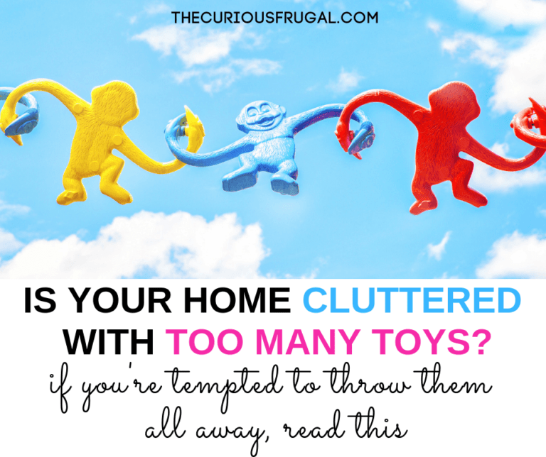 Too many toys?  How to declutter and organize (when you're tempted to get rid of all of them)