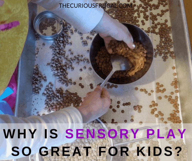 Sensory play benefits (and a ridiculously easy sensory play idea your kids will spend hours on)