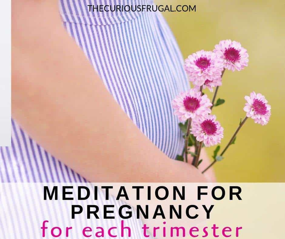 Pregnancy is NOT easy! These free guided meditations for pregnancy help with pregnancy anxiety, pain relief in pregnancy, relaxation, and more. These meditations are arranged by trimester so you can find the most helpful meditations for you. | first trimester | second trimester | third trimester | morning sickness | sleep