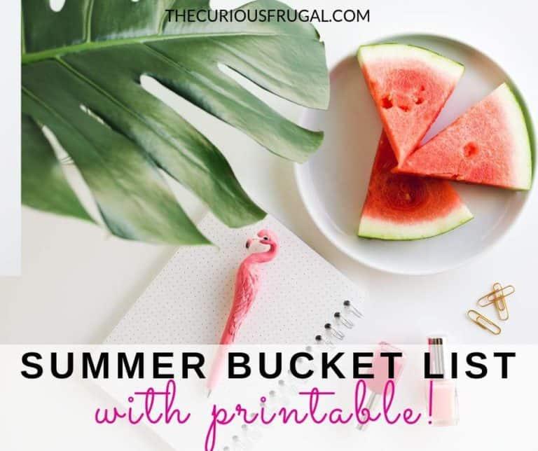 Summer Bucket List – 50 Cheap Or Free Ideas for Families
