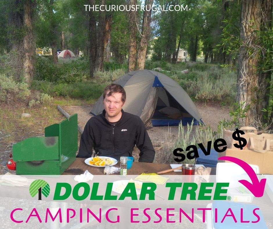 Frugal camping hacks - Save tons of money on your summer trip this year! Pick up these Dollar Tree camping supplies before you head out on your camping trip and you will be all set for MUCH less money! | thrifty camping ideas | camping with kids | fun dollar tree camping hacks | dollar tree camping ideas | dollar store camping gear | camping food | camping meals | #frugalliving #frugallifestyle #outdoors #roadtrips #savemoneyhacks #dollartree