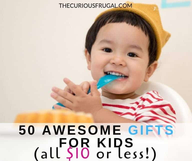 50 Gifts For Kids Under $10 (that kids will love!)