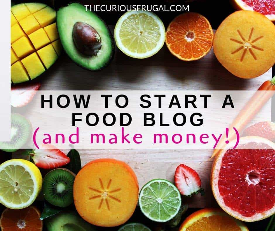 Have you ever daydreamed about food blogging? Do you love to cook and love to read food blogs? If you've ever wondered how to start a food blog and make money, you have come to the right place! Learn how to start a food blog and start making money from your food blog. This guide will walk you through step-by-step. Don't just dream, do! #bloggingtips #blogging #bloggingforbeginners| food blog ideas | food blog names | how to start a blog | food blog recipes | healthy food blog