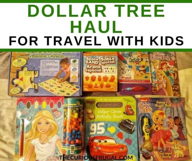 Dollar Tree Haul – Cheap and Fun Travel Activities For Kids