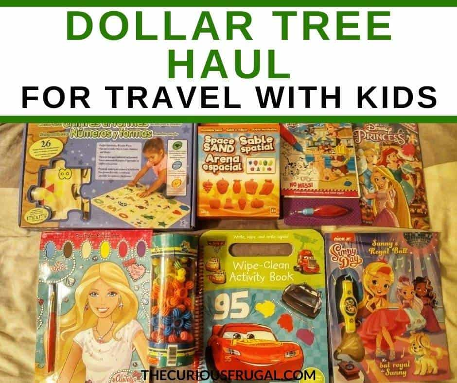 Check out the BEST Dollar Tree travel essentials for when you're traveling with kids. Here is my Dollar Tree haul of Dollar Tree toys that are perfect for road trips or airplane travel with kids. These Dollar Tree finds (thankfully!) kept our daughter busy for our 30 hour round-trip road trip!