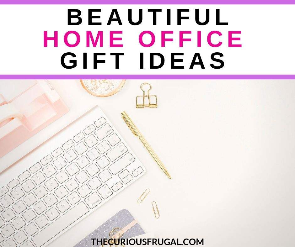 Home office gifts - Ultimate gift guide for the work from home office. 12 home office essentials for the work-from-home mom. | home office essentials |