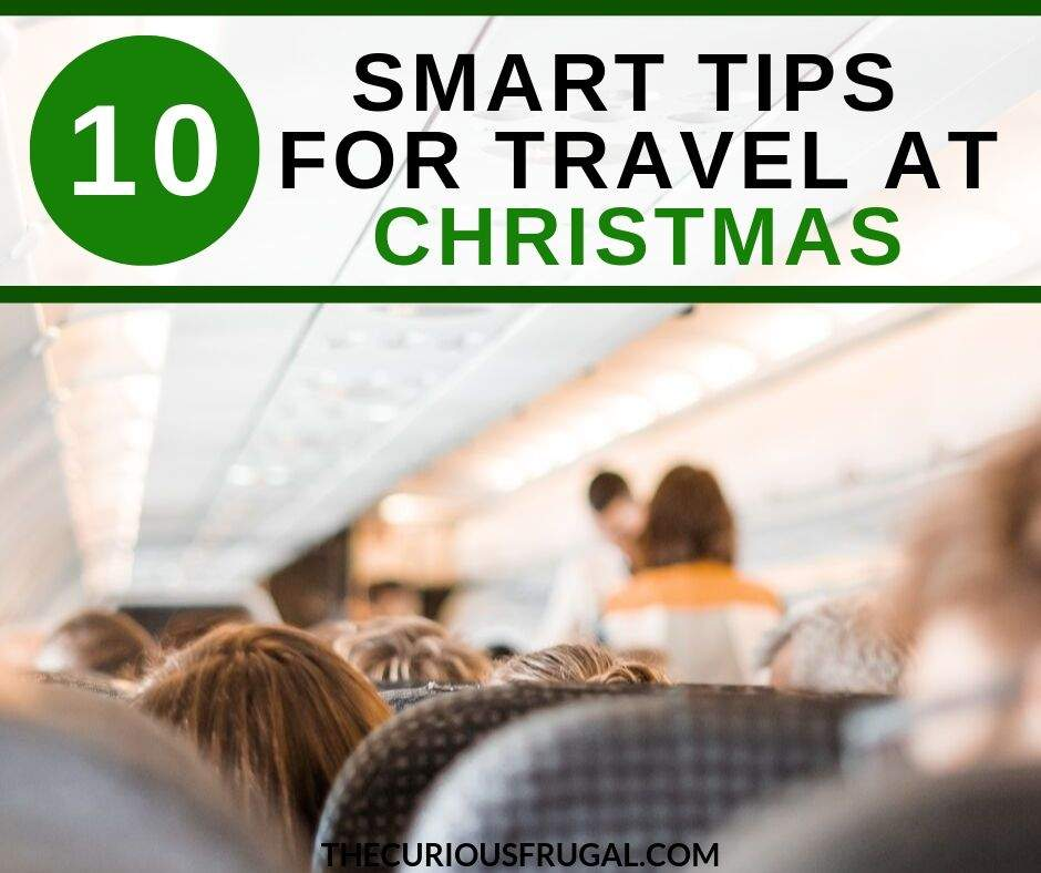 Are you planning to travel for the holidays with your family? Here are 10 tips for flying at Christmas with kids. holiday travel tips | holiday travel with kids | holiday travel hacks | travel at christmas with kids | christmas travel | christmas travel tips | christmas travel with kids | cheap christmas travel | christmas travel ideas