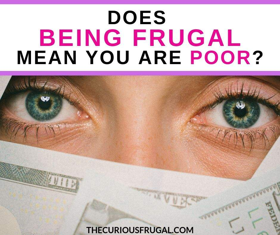 What does frugality mean? We live frugally and some people have wondered does being frugal mean you are poor? Or cheap? Let's bust some of the myths about frugal living.