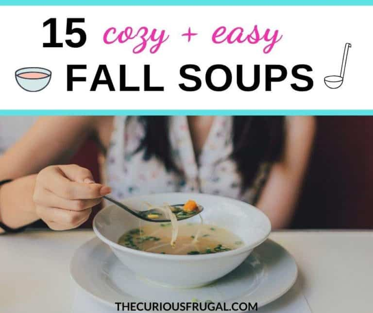 15 Cozy and Easy Fall Soups That Will Warm You Up