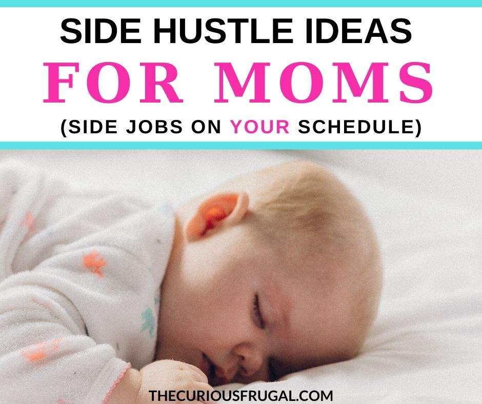 If you'd like to make some extra money, side hustles are the way to go!  With a work-from-home side job, I made $2,300 at home while my daughter napped.  I'll also share a big list of other flexible side hustle ideas to put the zip back in your bank account.