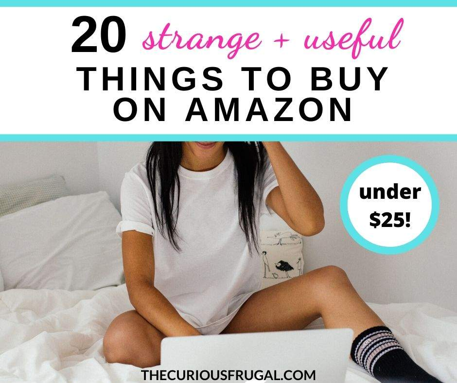 There sure are some weird products on Amazon. Here are 20 hidden gems on Amazon Prime that are strange-but-useful things to buy on Amazon (all $25 and under!)