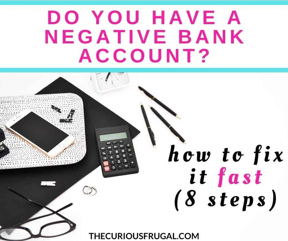 My negative bank account and how I turned it around. | how to get out of debt | personal finance tips | debt fix | side hustle