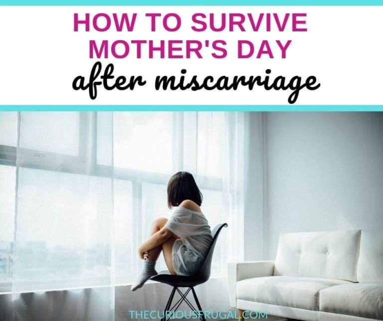 How To Survive Your First Mother's Day After Miscarriage