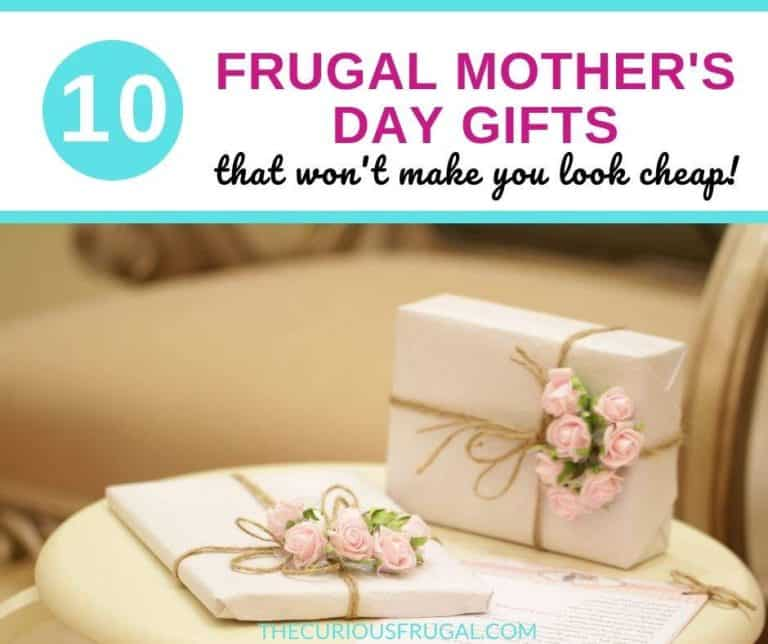 Cheap Mother's Day Gifts That Won't Make You Look Cheap