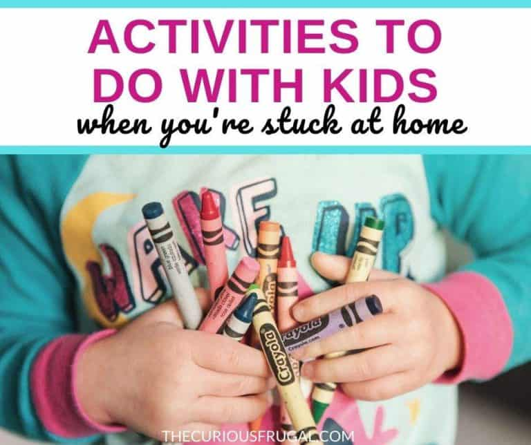 25 Activities To Do With Kids When You're Stuck at Home
