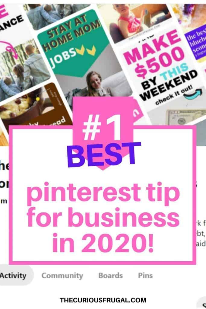 Wondering how to use Pinterest for business in 2020? I can tell you that it is SO different from the Pinterest we were used to. If your Pinterest strategies that you were doing before are not working anymore, there is a reason and you're not alone. Find out the best pinterest business tips for NOW and grow your business and income! | pinterest marketing tips | pinterest tips entrepreneur | pinterest for business marketing | pinterest for bloggers | pinterest for beginners