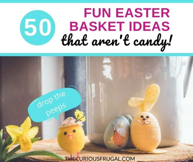 50 Fun and Frugal Non-Candy Easter Basket Ideas
