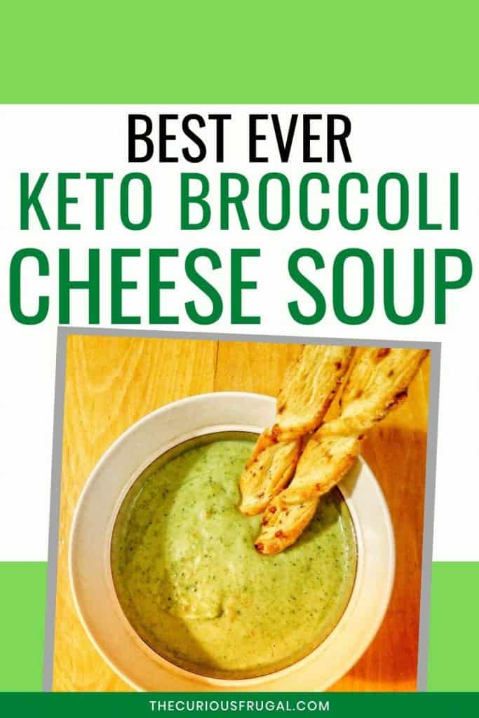 This is the BEST cream of broccoli soup I have ever had, and it just happens to be a low carb broccoli cream soup. This is a quick recipe that is perfect for an easy dinner on a weeknight. Gluten free, paleo, keto, low carb, lots of veggies and tons of flavor! This simple keto broccoli cheese soup with carrots is creamy and takes less than 30 minutes to make. Only 5 ingredients for this keto cheesy broccoli soup – so easy!