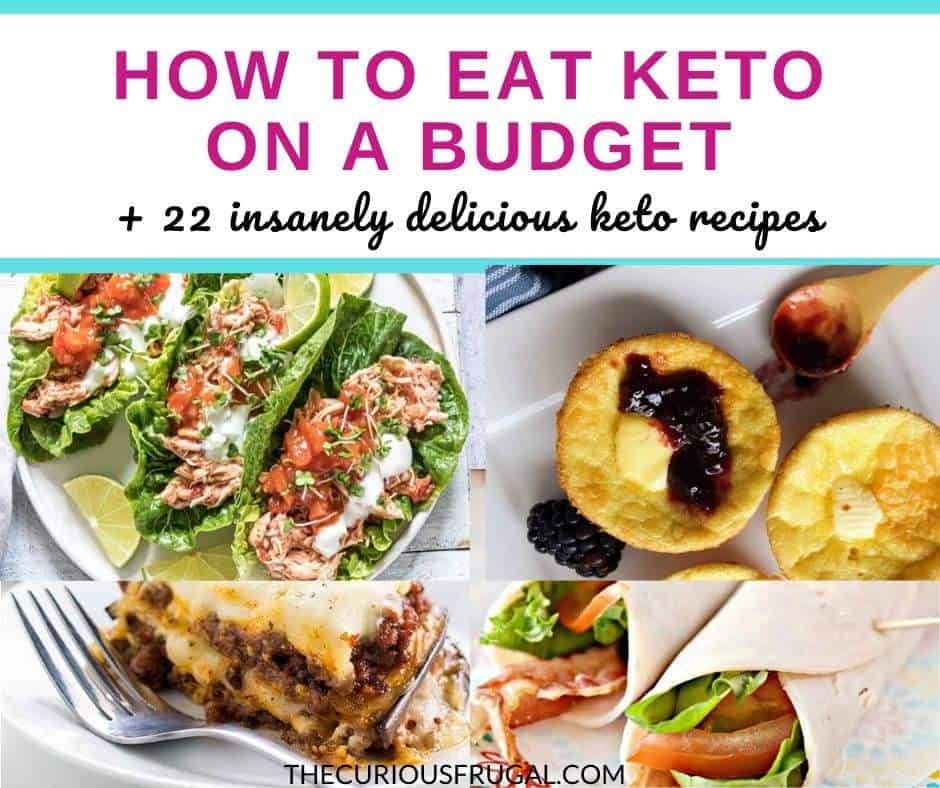 Keto food isn't known for being the most budget-friendly food but there are lots of ways to eat keto on a budget! Here are the top 10 ways to save money on the keto diet, plus 17 cheap keto meals that are insanely good!! | cheap keto recipes | cheap keto snacks | keto on a budget meals | keto on a budget recipes | easy keto on a budget | lazy keto on a budget | keto crock pot | keto on a budget tips | keto on a budget dinner | easy cheap keto meals | simple cheap keto meals | quick cheap keto meals