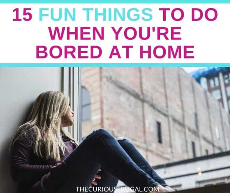 15 Cheap and Fun Things to Do When Bored at Home