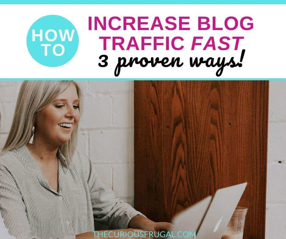 I will share the secrets of how I grew my blog traffic 300% in one month! Learn the top tips for bloggers to increase your blogging traffic fast! Using Pinterest strategies, the best blogging course, and a couple of other blogging tricks, I was able to triple my blog traffic and get into Mediavine in one month! This is the best time to start a blog or grow your blog and I will show you how! | blogging for beginners | ways to increase blog traffic | increase blog traffic with pinterest #bloggingtips #blogtips #blogtraffic #bloggingresources