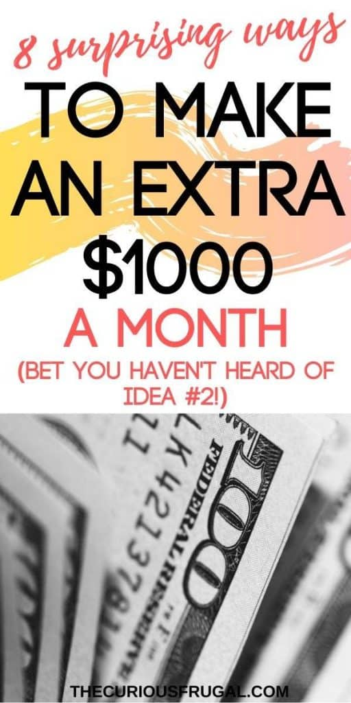 8 Unique Ways To Make An Extra 1000 A Month The Curious