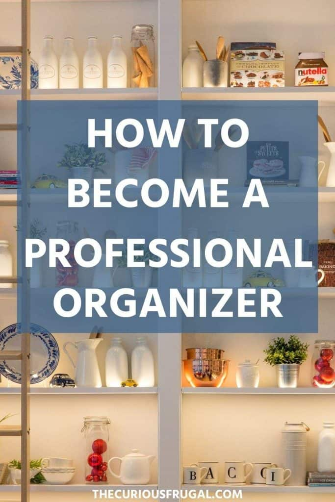 Do you love organizing? If you already have great organization skills and love to keep a clean and tidy home, why not turn your skills into a profitable business? I was SO inspired to read about Jen and how you can make money with a professional organizing business. There is also an online course you can take to become a professional organizer that I can't wait to sign up for! How to become a professional organizer.