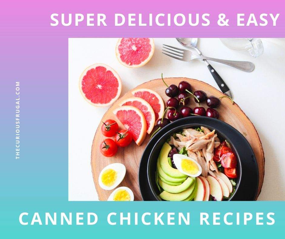 Recipes using canned chicken - chicken salad