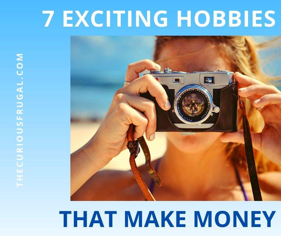 7 Exciting Hobbies That Make Money (woman with a camera)