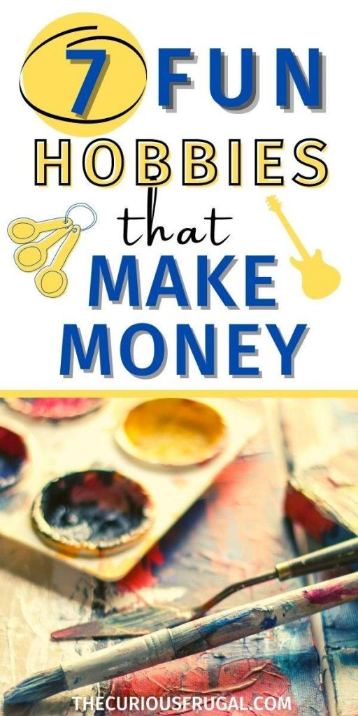 7 Exciting Hobbies That Make Money (paint and paintbrushes)