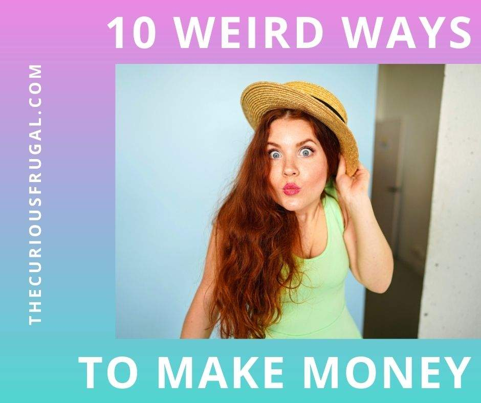 10 Weird Ways to Make Money - Woman making a funny face and looking surprised